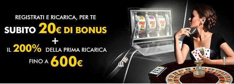 lottomatica casino bonus