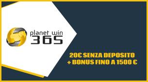 planetwin365 opinioni e offerta