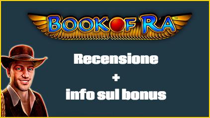 Dove Giocare a Book of Ra con bonus