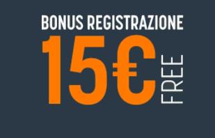 15 euro snai registrazione