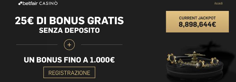betfair casino bonus